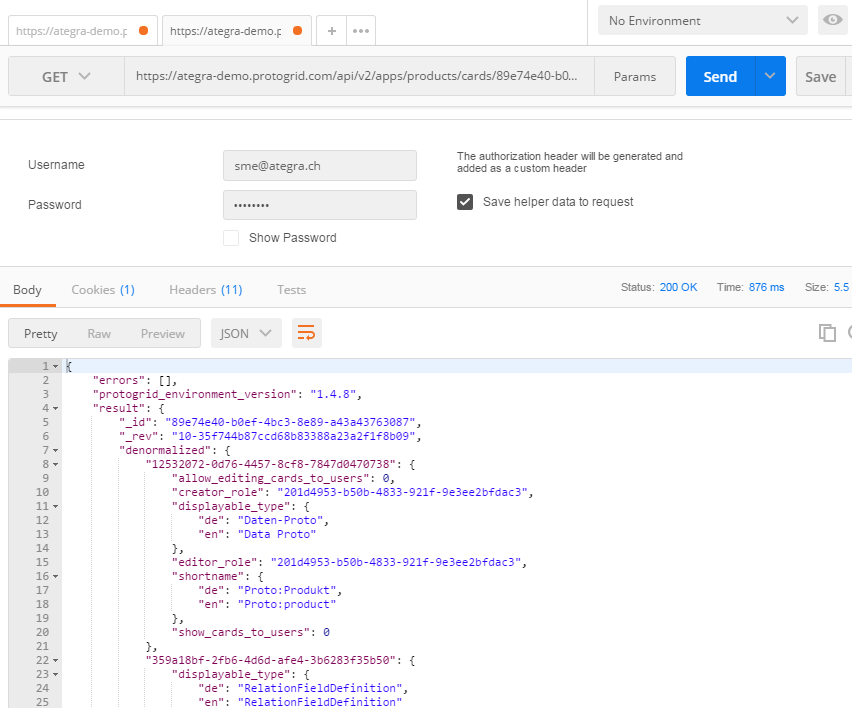GET-Request with Postman